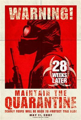 28 Weeks Later Quarantine Poster