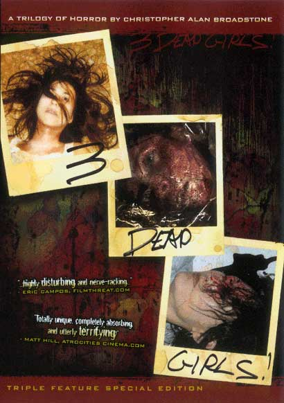 Three Dead Girls DVD