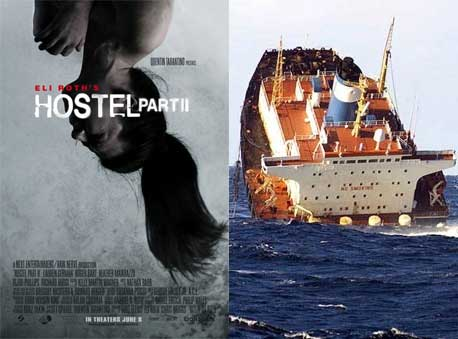 Hostel Part II : Sinking Ship