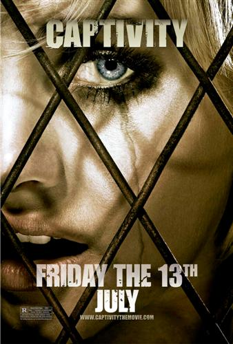 Captivity Poster, Elisha Cuthbert, Ultra High Quality