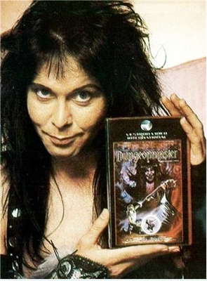 Blackie Lawless and the VHS