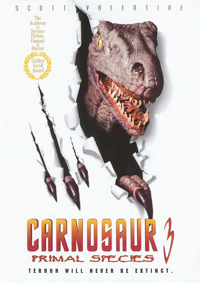 Carnosaur 3 Cover Art