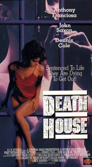 VHS cover for Death House