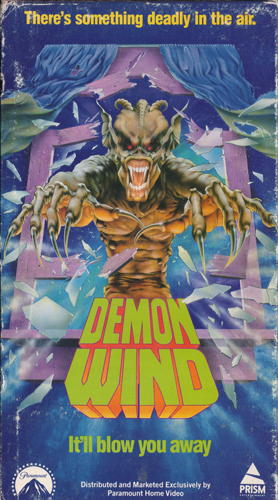 Demon Wind Awesome VHS Art