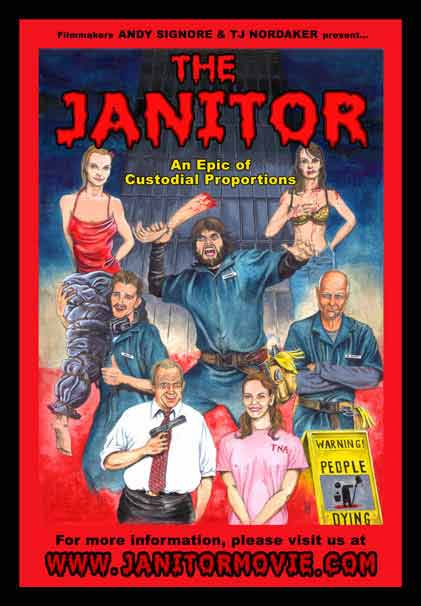 Poster for The Janitor