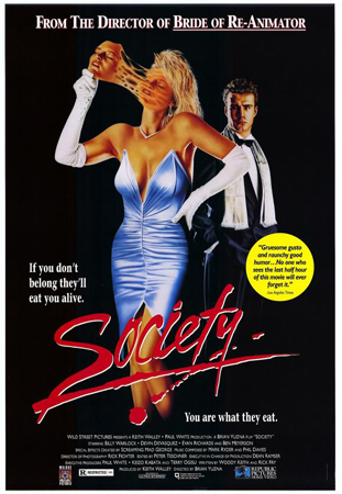 Poster art for Society