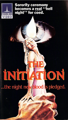 VHS cover of The Initiation
