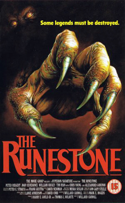 UK Cover Art for The Runestone
