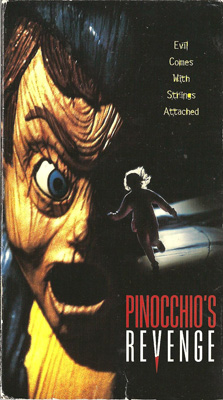 VHS cover of Pinocchio's Revenge